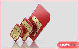 Дубликат сим-карты Водафон и услуга «Сим-пара»