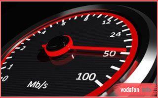 Проверить скорость интернета Водафон Украина