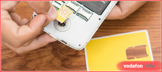как восстановить номер телефона Водафон
