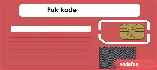 как узнать пук код Водафон