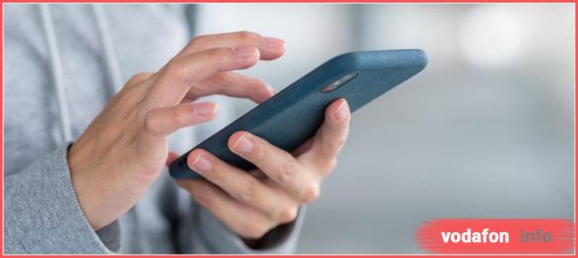 личный кабинет Водафон регистрация