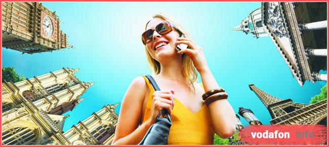 тарифы для звонков за границу от Водафон