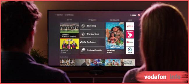 приложение Водафон ТВ