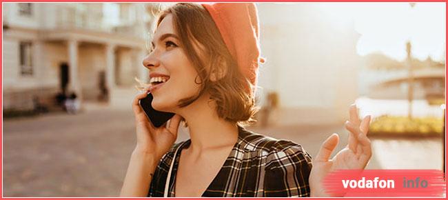 безлімітні дзвінки за кордон від Водафон