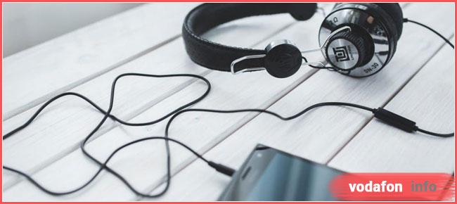 як відключити Водафон мюзик
