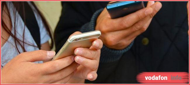 услуга Водафон раздача интернета на месяц