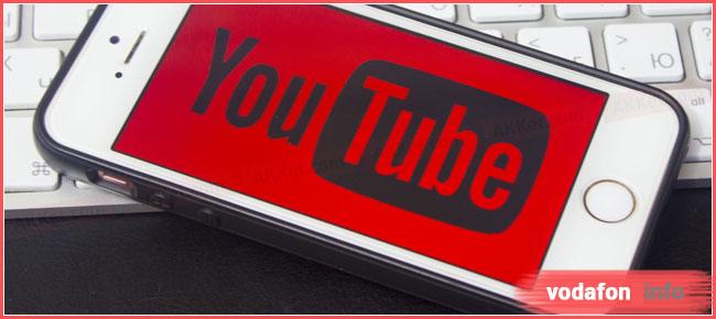 послуга youtube premium Водафон